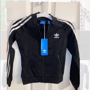 Adidas Track jacket - size L (youth 7-8)